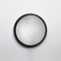 Pantarei 300 polycarbonate black | Outdoor wall lights | Artemide Architectural