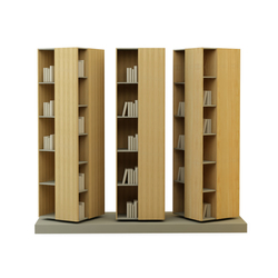 Atlas H:195 Cabinet | Library shelving systems | Nurus