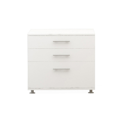 Basic Box H75 L80 Fixed Pedastal | Sideboards | Nurus