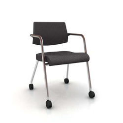 S Chair 4-Leg Visitor Chair | Sedie visitatori | Nurus