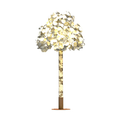floor lamps in wood free standing lights leaf lamp series tree. Black Bedroom Furniture Sets. Home Design Ideas