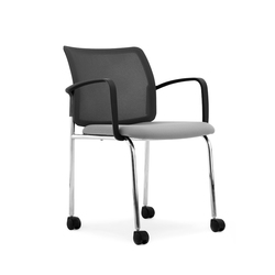 Tune Chair with Castors | Sedie visitatori | Nurus