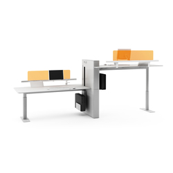 Faces Double Desk | Sistemi tavolo | Nurus