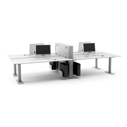 H henverstellbare tische tischsysteme b rotische faces for Schreibtisch quadro