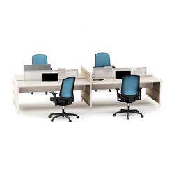Pila Closed Desk | Desking systems | Nurus