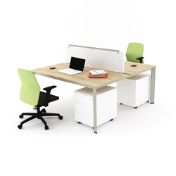 Plato Double Working Desk | Systèmes de tables de bureau | Nurus