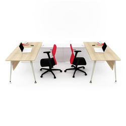 Lunar Double Working Desk | Escritorios individuales | Nurus