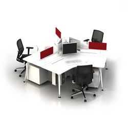 U too 120° Angel Desk | Desking systems | Nurus