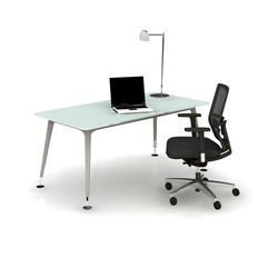 U too Glass Desk | Einzeltische | Nurus
