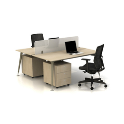 U too Double Desk | Tischsysteme | Nurus