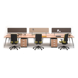 U too Six Fold Desk | Sistemi tavolo | Nurus