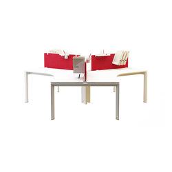 Silva 120° Desk | Systèmes de tables de bureau | Nurus