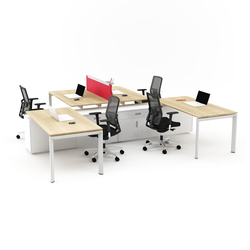 Silva Double Working System | Individual desks | Nurus