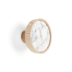 Charles Marble White | Coat hook | Ganci / Supporti | Edition Nikolas Kerl