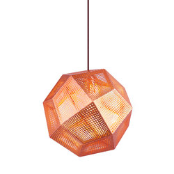 Etch Pendant Copper | Suspensions | Tom Dixon
