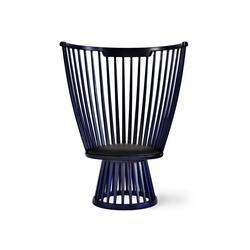 Fan Chair Indigo | Sessel | Tom Dixon