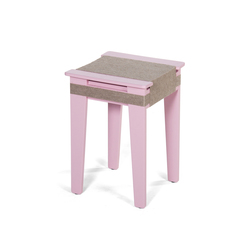 Wrapped | soft-pink | Stools | Vij5