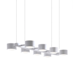 City S8 Pendant | Suspended lights | Luz Difusión