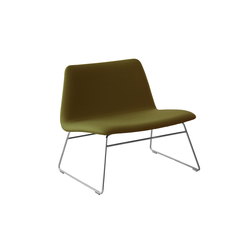 Spinal Chair 80 runner-legs | Lounge chairs | Paustian