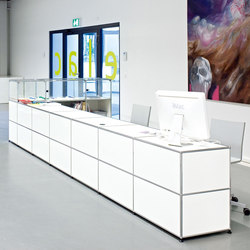 USM Haller Reception station | Reception desks | USM