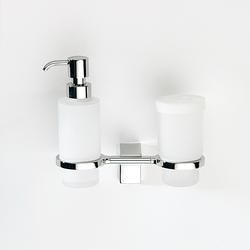Eletech Combo tumbler + soap dispenser | Soap dispensers | SONIA