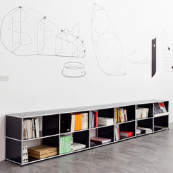 USM Haller Shelving | Office shelving systems | USM