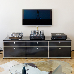 USM Haller Media | Multimedia Sideboards | USM Pictures Gallery