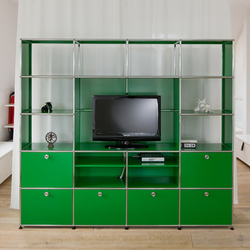 USM Haller Shelving | Armoires / Commodes Hifi/TV | USM