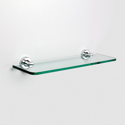 Tecno Project Glass shelf | Bath shelving | SONIA