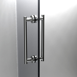 Tecno Project Shower door bar (In&Out) | Shower hinges | SONIA