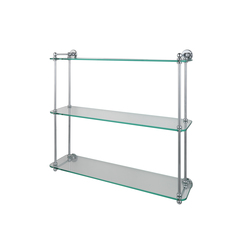 Multiple Glass Shelf | Bath shelving | Drummonds