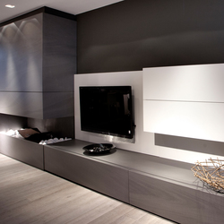 Interior | Fusion Basalt Grey | Facing panels | Neolith