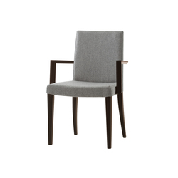 Plaza chair with armrests | Chaises de restaurant | Billiani