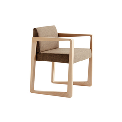 Askew armchair | Visitors chairs / Side chairs | Billiani