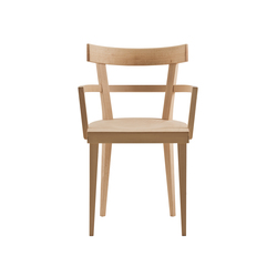 Cafè chair with armrests | Classroom / School chairs | Billiani