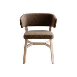 Croissant armchair | Visitors chairs / Side chairs | Billiani