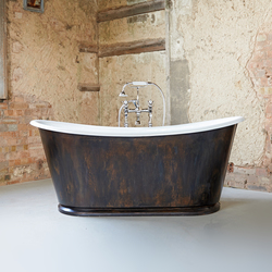 The Burnished Copper Usk | Free-standing baths | Drummonds