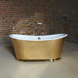 The Brass Usk | Free-standing baths | Drummonds