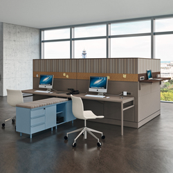 Te08 Partition | Systèmes de tables de bureau | Martex