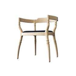 Fuga chair with armrests | Chaises de restaurant | Billiani