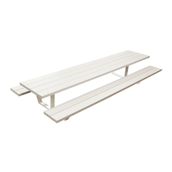 Cassecroute Table Aluminium | Tables de cantine | CASSECROUTE