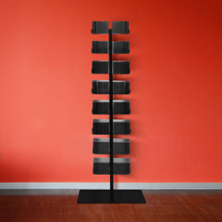cd-baum double version stand | Estanterías para CD | Radius Design