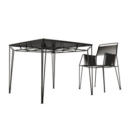 Wired Table | Garten-Esstische | Forhouse