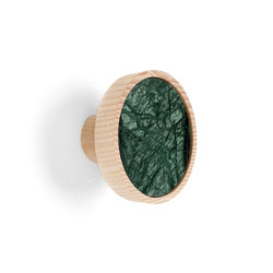 Charles Marble Green | Coat hook | Ganci / Supporti | Edition Nikolas Kerl