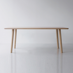 Hiroshima Table 180 High (Rectangular) | Tables de repas | MARUNI