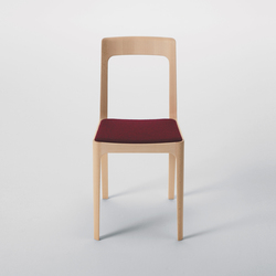 Hiroshima Armless Chair | Restaurant chairs | MARUNI