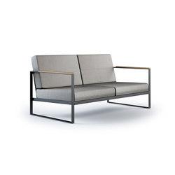 Garden Easy Sofa 2 seat | Sofas de jardin | Röshults
