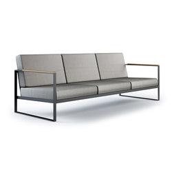 hochwertige gartensofas mit untergestell aus edelstahl auf. Black Bedroom Furniture Sets. Home Design Ideas