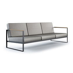 Garden Easy Sofa 3 seat | Sofás de jardín | Röshults