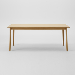 Lightwood Table 240 (Rectangular Wood Top) | Restaurant tables | MARUNI